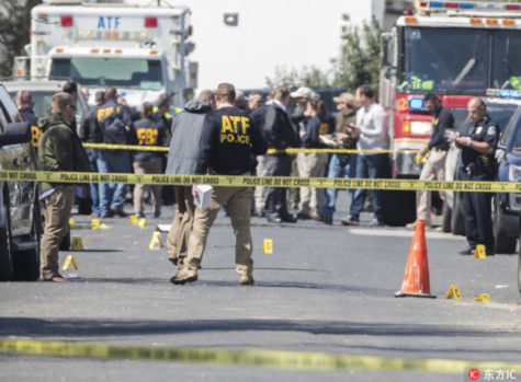 Package Bombs Rock Texas
