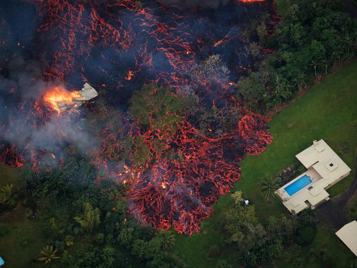 Hawaii Volcano Continues Its Path of Destruction