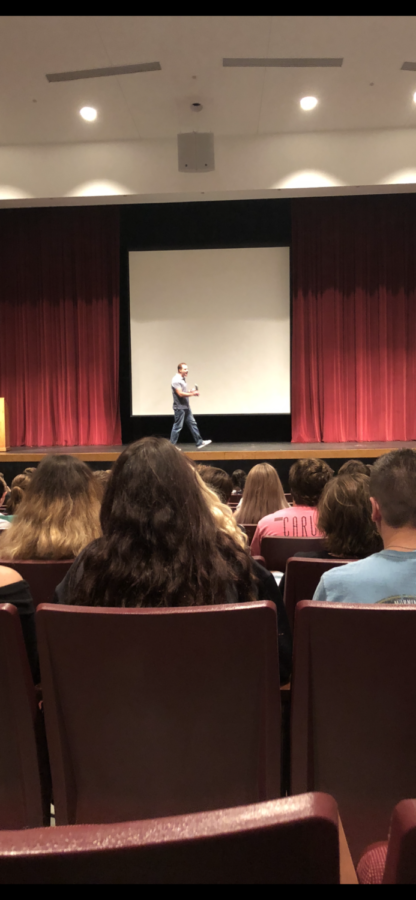 Aaron Cooksey Shares His Story with BHS