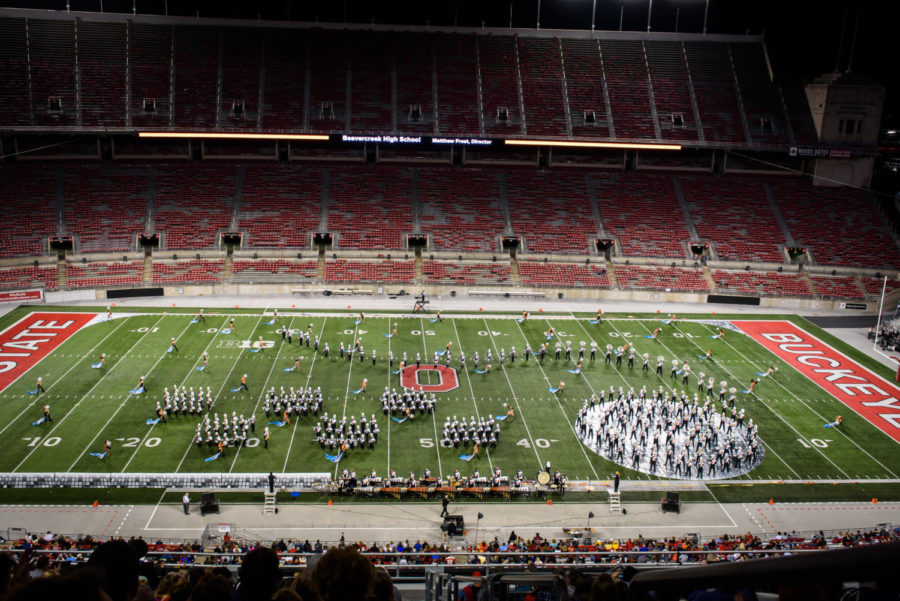 Marching Band Competition at OSU