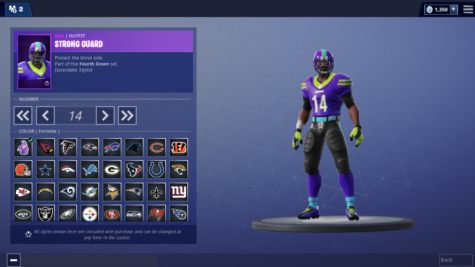 Fortnite Football Skins