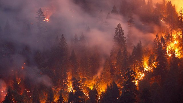 California Wildfires Contained