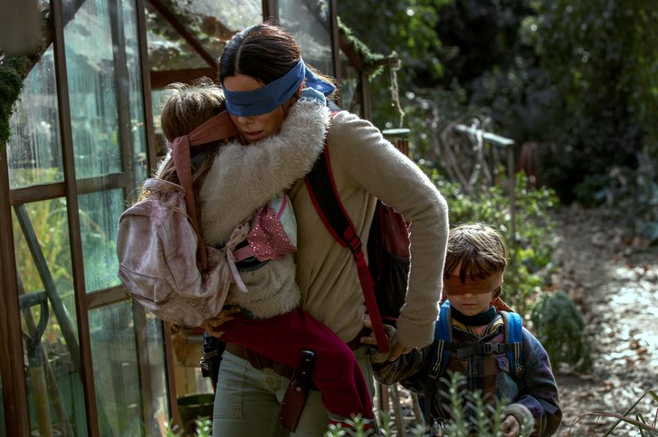 Birdbox scene from movie