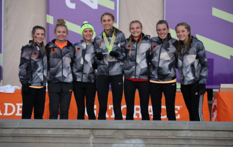 Girls' Cross Country Team Makes History