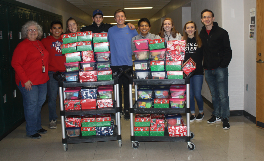 Holiday Drives at BHS