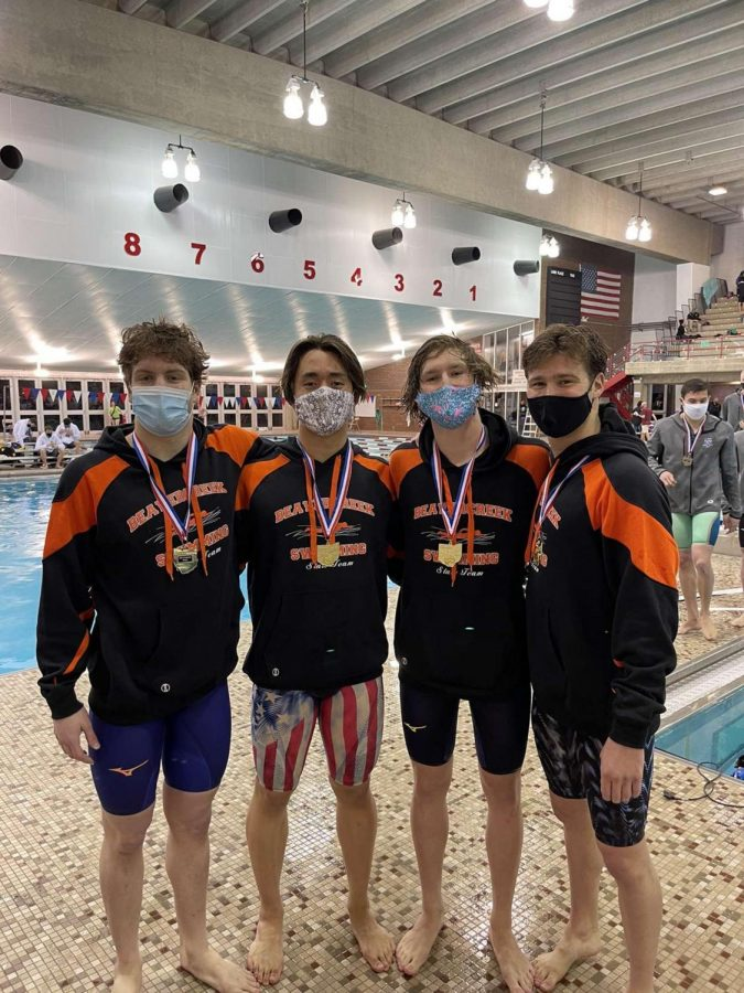 Beavers Swim to Success at State Championships